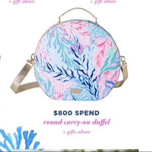 NWT Lilly Pulitzer Carry On